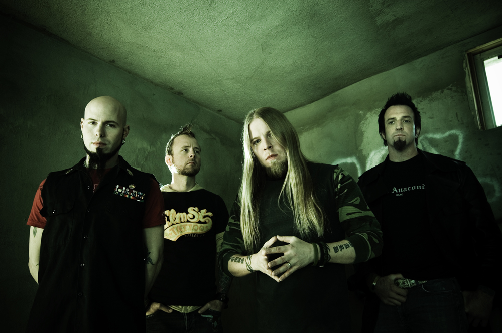 Drowning pool html biography and band info at the gauntlet for Soil band albums