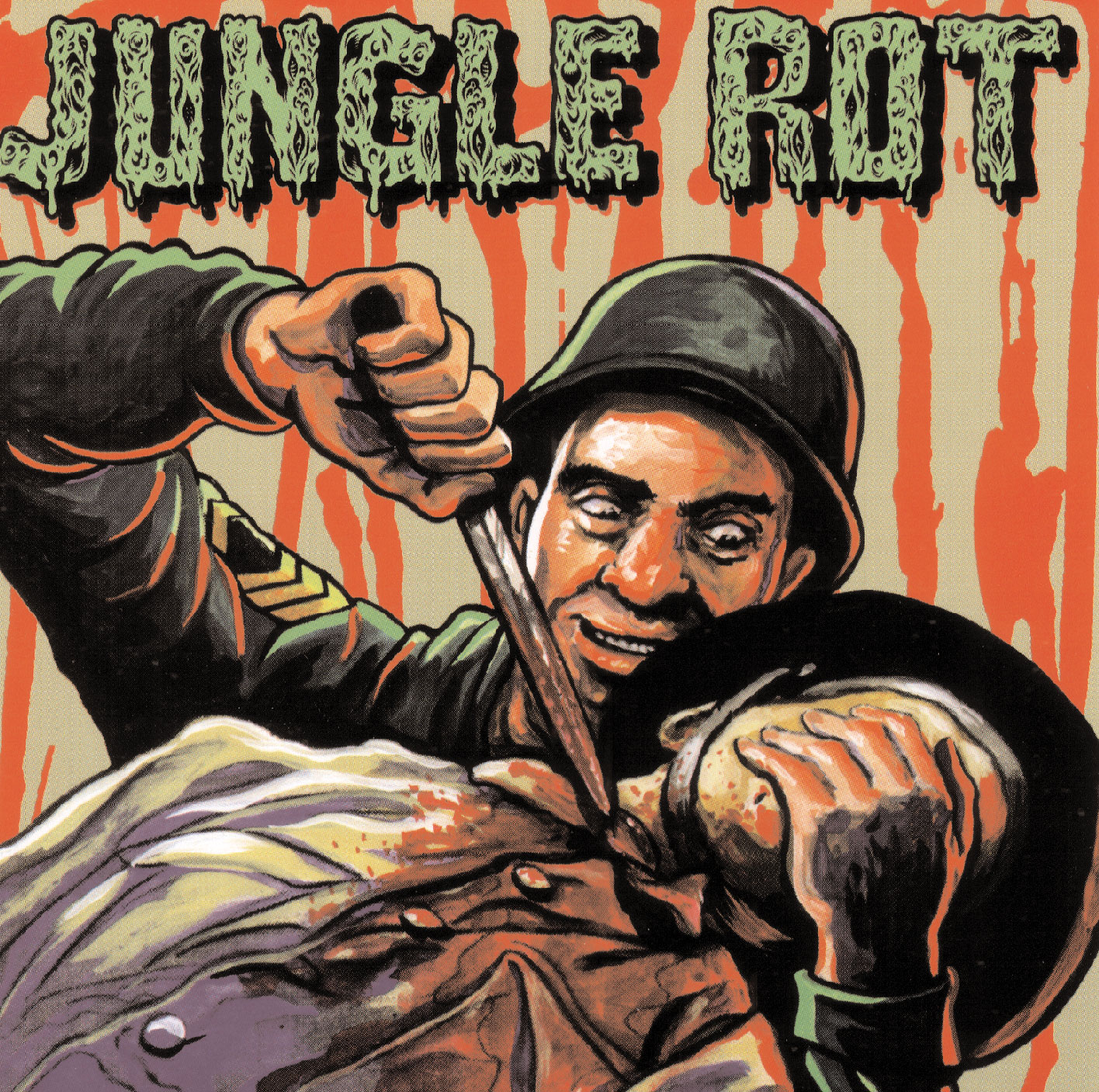 Jungle Rot album cover
