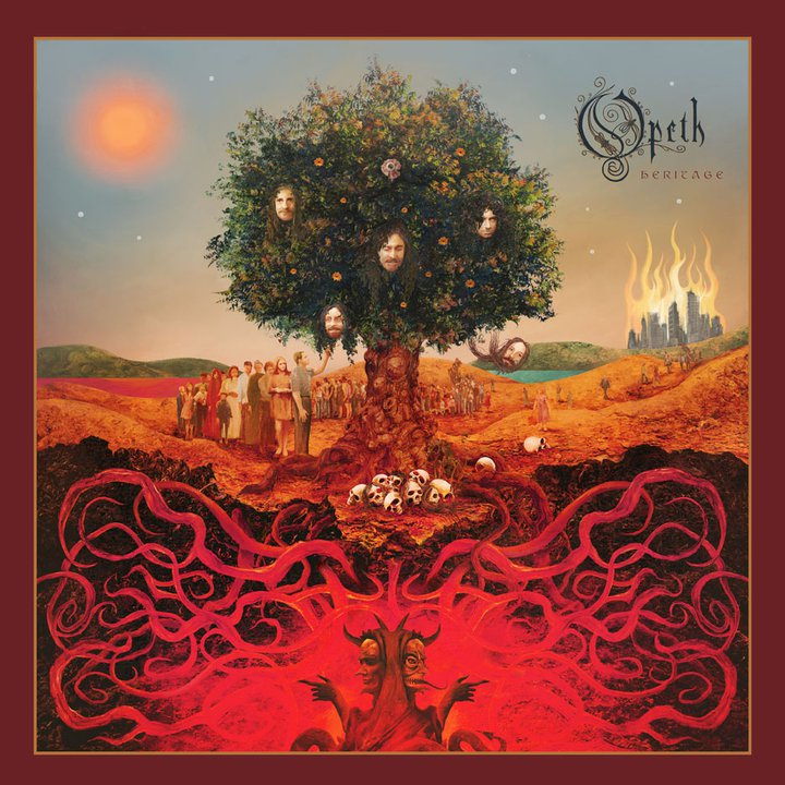 Opeth Cover Heritage